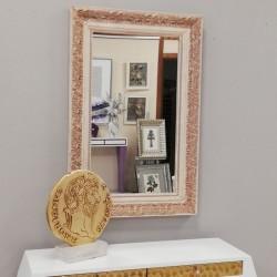 Cuadro La Adoración de Lippi marco plata