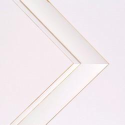 Cuadro abstracto circulos morado Aluminio