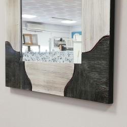 Espejo con marco Policromado