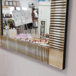 Espejo marco madera...