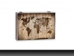 Cubre contador mapa mundi
