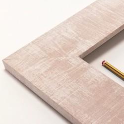 marco madera color tierra decapé