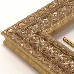 Marco labrado oro Alhambra