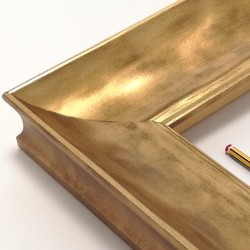 marco dorado amartillado