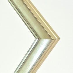 marco madera color platino rozado 4 cm