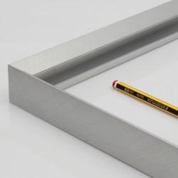 Marco aluminio simil acero...