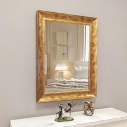 Espejo con marco dorado R-51