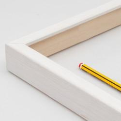 marco madera blanco decapé