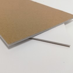Trasera cartón pluma 3 mm.
