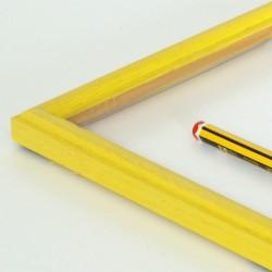 "Marco madera ""peque"" amarillo"