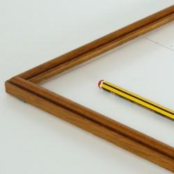 marco fino en color cerezo viejo
