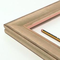 marco madera color platino rozado