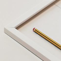 marco peque blanco lacado