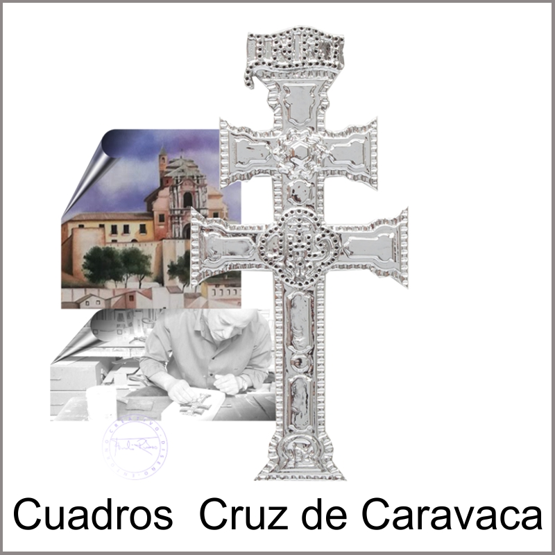 Cuadros con cruz de caravaca